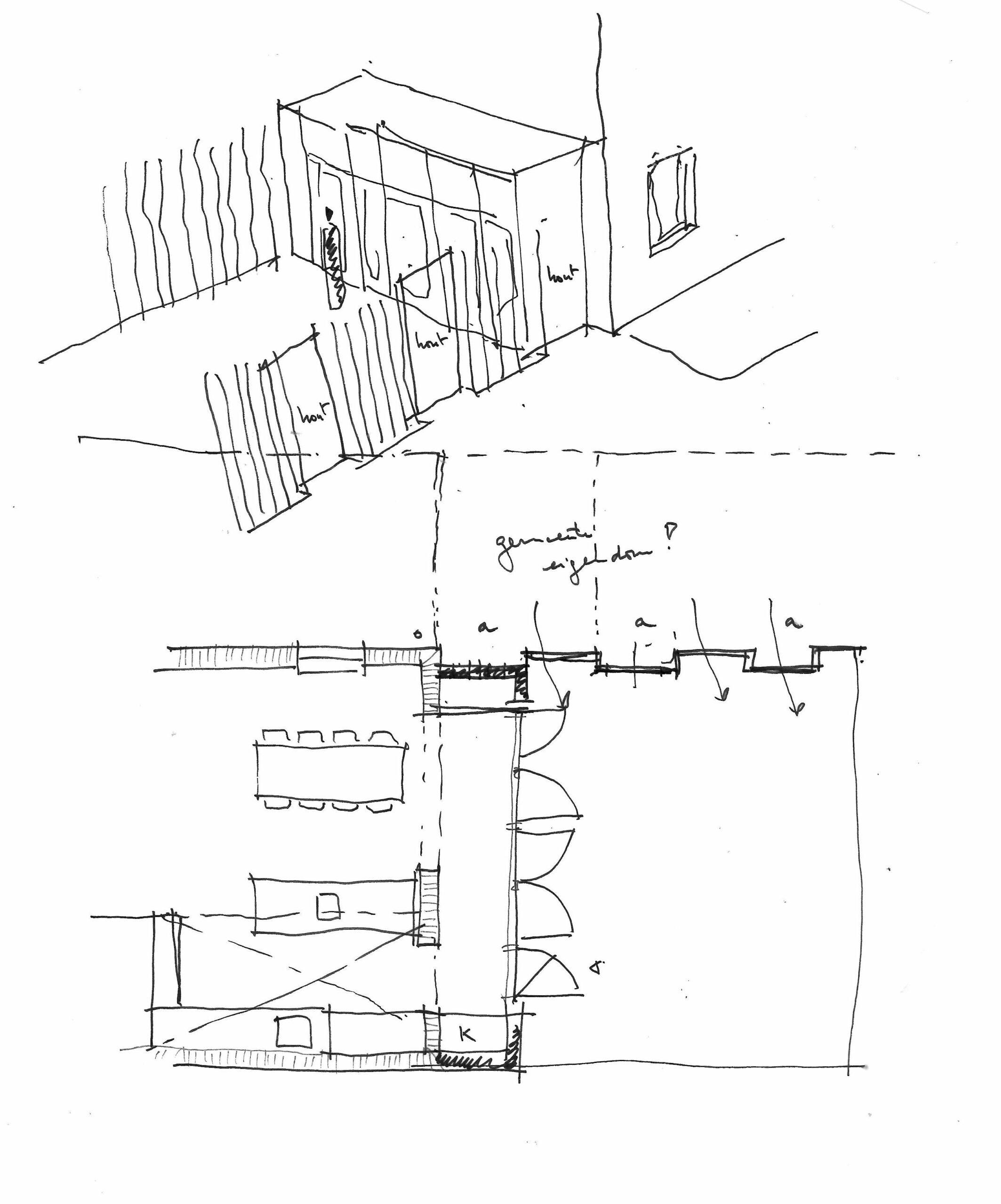 pr architectenburo - Schets