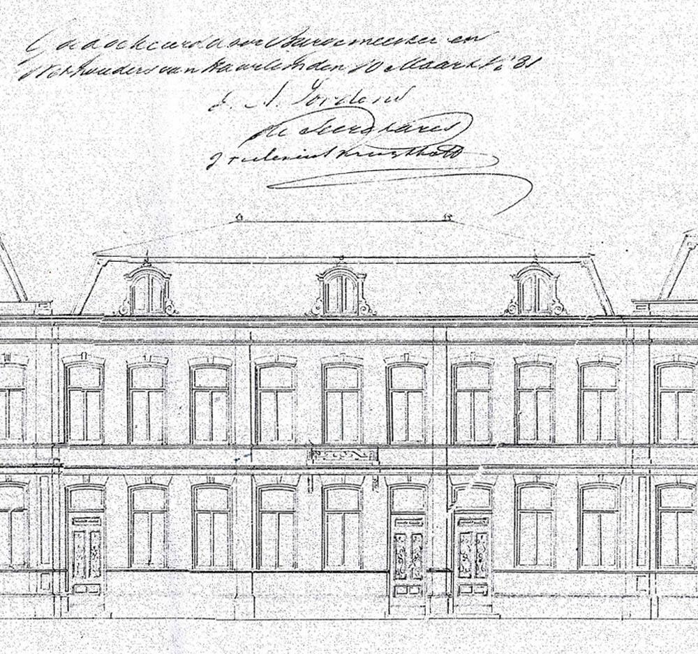 pr architectenburo - Frans Halsplein