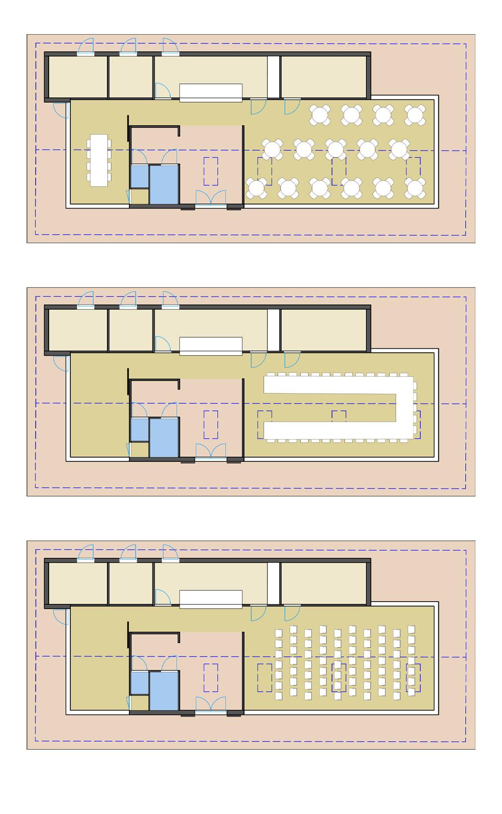 pr architectenburo - Plattegrond bezoekerscentrum Brederode